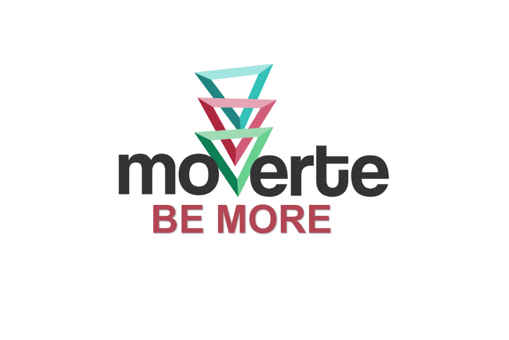 Logo Moverte Be More..